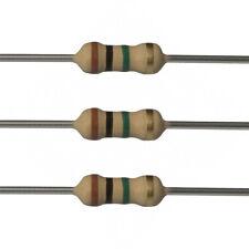 100 x 1M Ohm Carbon Film Resistors - 1/2 Watt - 5% - 1M - Fast USA Shipping