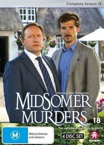 Midsomer Murders : Season 18 (DVD, 4-Disc Set) AS NEW 💥💥