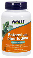 2 x Potassium Plus Iodine, Thyroid Support, 180 Tablets(360 tabs in total)
