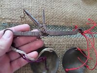 ANTIQUE VERY SMALL 19TH CENTURY JEWELRY BALANCE SCALE