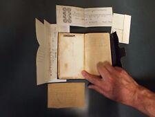 1862 Methodist Diary - Civil War Time - True Whittier - SC Missionary