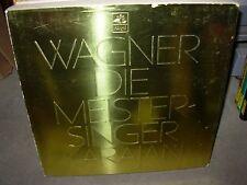 KARAJAN / WAGNER die meistersinger ( classical ) 5 lp box angel