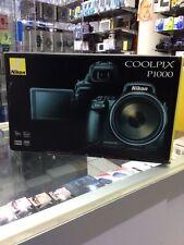Nikon Coolpix P1000 32024 16MP 125x Wide Angle Digital Camera - Black