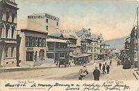 POSTCARD SOUTH AFRICA - STRAND STREET - ANIMATED SCENE - CIRCA 1905