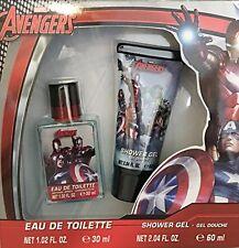 Marvel Avengers Childrens Shower Gel and Eau De Toilette Gift Box Set