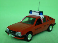 GAMA 1141 OPEL ASCONA FIRE ENGINE FEUERWEHR - RED 1:43 - VERY GOOD CONDITION