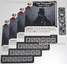 4x THE PENGUIN: ICEBERG LOUNGE 34/124 Batman Dice Masters DC