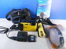 NIKON Coolpix AW130 16.0MP Water Proof Digital Camera - Yellow