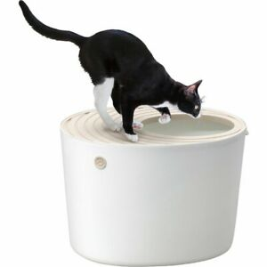 NEW Iris Oyama Top Cat Toilet White PUNT-530 free shipping From Japan F/S NEW