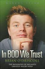 """Brian O' Driscoll Irlanda Rugby Libro - """"en BOD que la confianza"""" por Marcus Stead"""