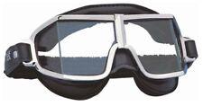 Climax 521 Oldtimer gafas negro con acolchado de cuero y banda ajustable