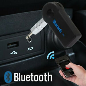Car Audio AUX Wireless Bluetooth Stereo Music Receiver Handsfree Mic Adapter Kit