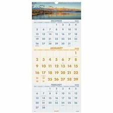 2022 Wall Calendar By At A Glance 12 X 27 Large 3 Month Scenic Dmw50328