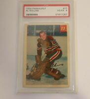 1954-55 Parkhurst Al Rollins #77 PSA 4 Chicago Blackhawks