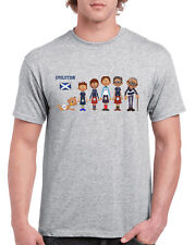 SCOTLAND RUGBY EVOLUTION T-SHIRT - PERSONALISED WITH KITS OF YOUR CHOICE