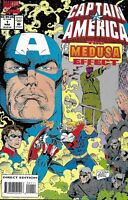 Captain America Comic 1 The Medusa Effect Cover A First Print 1994 Roy Thomas