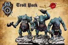 Shieldwolf Miniatures Krumvaal Northern Alliance Trolls (3 Miniatures Pack)