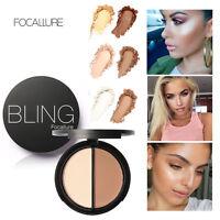 Bling Make up Face Contour Matte Powder Highlighter Shimmer Bronzer Concealer