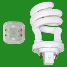 6x 24W G24Q-2 4 pin CFL 6400K Natural Daylight White Spiral Light Bulb Lamp