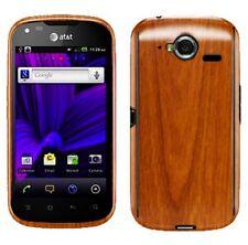 Skinomi Light Wood Full Body Phone Skin+Screen Protector Cover for Pantech Burst