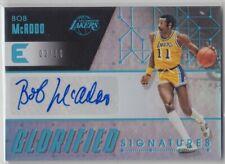 2017-18 Panini Essentials Lakers Bob Mcadoo Glorified Signatures Auto 02/10