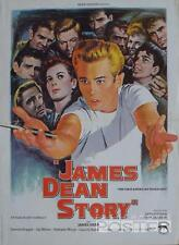 JAMES DEAN STORY - THE FIRST AMERICAN TEENAGER - REISSUE SMALL MOVIE POSTER