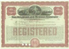 THE DELAWARE AND HUDSON COMPANY.....1915 COVERTIBLE GOLD BOND