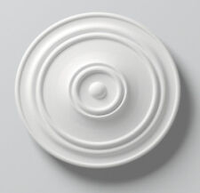Lightweight Resin Ceiling Rose Julia Mould Not Polystyrene Easy to Fix 56cm