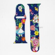 Authentic Disney Alice in Wonderland Strap Band Replacement For Apple Watch 42mm