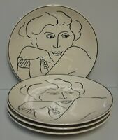 Sango FRANCESCA Dinner Plates SETS OF FOUR More Items Available NICE