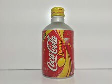 Coca Cola Aluminium bottle can Japan Lemon Coke