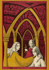 Pink Floyd/Big Brother And The Holding Company Winterland(1967) - Concert Poster