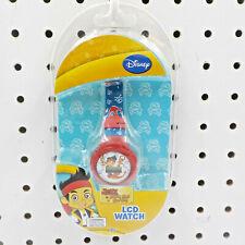 Disney Jake & The Never Land Pirates Kids LCD Wrist Watch ~ BATTERY NEEDED