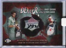 DEXTER Season 3 Bloody Evidence Bag Prop Card D3-P2