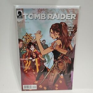 tomb raider #12 darkhorse crystal dynamics