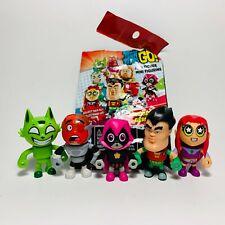 New listing Mattel Dc Teen Titans Go! Mini Figure S2 Set- Robin Cyborg Beast Starfire Raven