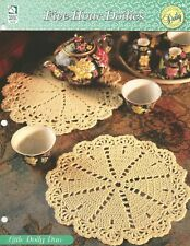 Little Doily Duo Crochet Pattern - Five-Hour Doilies HOWB Series