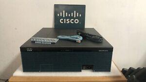 CISCO 3925E/K9 Integrated Services Gigabit Router CISCO3925E/K9 SPE200 2GB DRAM