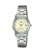 LTP-V002SG-9A Ladies Watch Casio New Model Analog Brand-New
