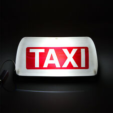 12V 5 LED Taxi Light Cab Sign Roof  Topper Car Magnetic Lamp Waterproof  White