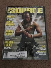 THE SOURCE MAGAZINE #131 August 2000 Wyclef Cover