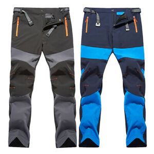 Mens Hiking Trousers Quick Dry Outdoor Combat Sports Breathable Baggy Thin Pants