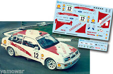Decal 1:43 Luis Monzon - FORD SIERRA COSWORTH - Rally El Corte Ingles 1990