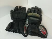 Riossi MENS WATERPROOF MOTORCYCLE GLOVES, SIZE- LARGE