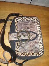 BIBA Animal Print Shoulder Bag