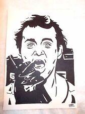 Marcador de tinta negra A4 Pluma de Dibujo Bill Murray como Peter Venkman Cazafantasmas