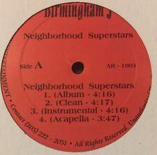 "BIRMINGHAM J Neighborhood Superstars/Woodgrain/Gator 12"" Dem Kottage Boys"