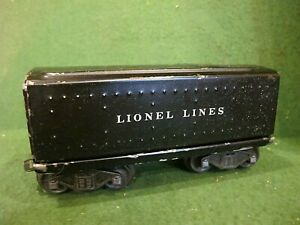 Lionel PW 6654W whistle  Tender