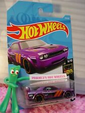 DODGE CHALLENGER DRIFT CAR #179 ✰ purple✰NIGHTBURNERZ✰2019 i Hot Wheels CASE J/K