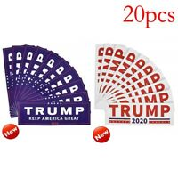 20x Donald Trump President 2020 Bumper Sticker Keep Make America Great Decal /Y